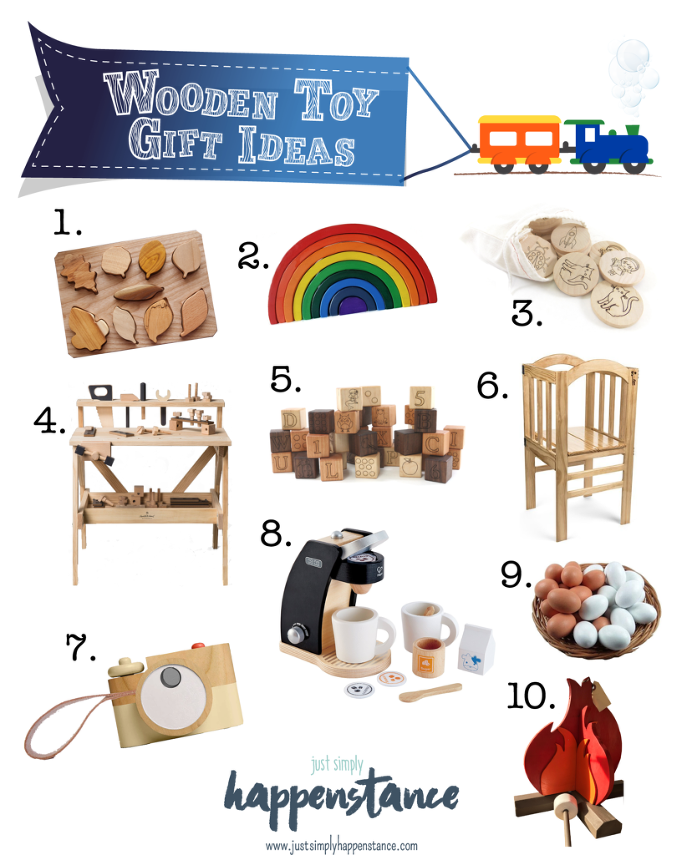 Wooden Toy Gift Idea | Just Simply Happenstance Lifestyle Blog